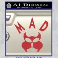 MAD Inspector Gadget Decal Sticker Red 120x120