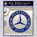 Mercedes Benz C2 Decal Sticker Blue Vinyl 120x120