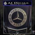 Mercedes Benz C2 Decal Sticker Carbon FIber Chrome Vinyl 120x120