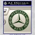 Mercedes Benz C2 Decal Sticker Dark Green Vinyl 120x120