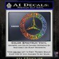 Mercedes Benz C2 Decal Sticker Glitter Sparkle 120x120