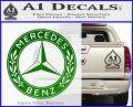 Mercedes Benz C2 Decal Sticker Green Vinyl Logo 120x97