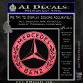 Mercedes Benz C2 Decal Sticker Pink Emblem 120x120