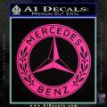 Mercedes Benz C2 Decal Sticker Pink Hot Vinyl 120x120