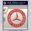 Mercedes Benz C2 Decal Sticker Red 120x120