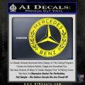 Mercedes Benz C2 Decal Sticker Yellow Laptop 120x120