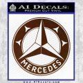 Mercedes Benz C3 Decal Sticker BROWN Vinyl 120x120