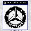 Mercedes Benz C3 Decal Sticker Black Vinyl 120x120