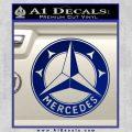 Mercedes Benz C3 Decal Sticker Blue Vinyl 120x120