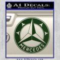 Mercedes Benz C3 Decal Sticker Dark Green Vinyl 120x120