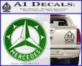 Mercedes Benz C3 Decal Sticker Green Vinyl Logo 120x97