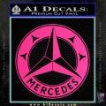 Mercedes Benz C3 Decal Sticker Pink Hot Vinyl 120x120