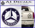 Mercedes Benz C3 Decal Sticker PurpleEmblem Logo 120x97