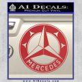 Mercedes Benz C3 Decal Sticker Red 120x120