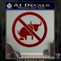 No Bull Shit Decal Sticker DRD Vinyl 120x120