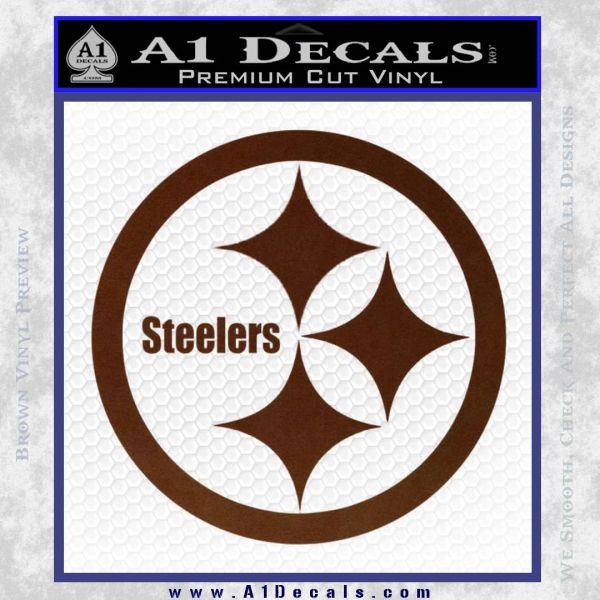 Pittsburgh Steelers Decal Sticker A Decals - Custom vinyl decals pittsburgh