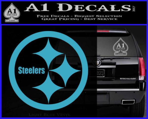 Pittsburgh Steelers Decal Sticker  A Decals - Badass decals for trucks