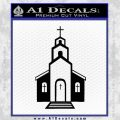 christian church decal Black Vinyl 120x120