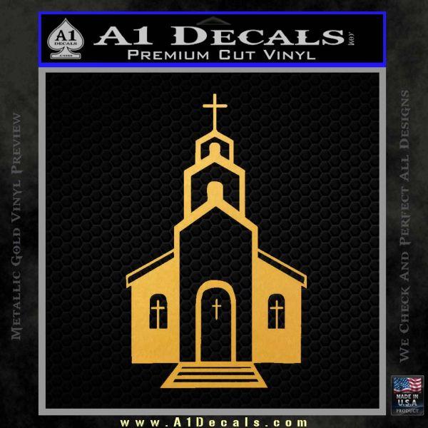 Christian Church Decal Sticker 187 A1 Decals