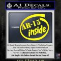 Ar 15 Inside Decal Sticker Yellow Laptop 120x120