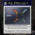 Baseball Bats And Ball Decal Sticker Glitter Sparkle 120x120