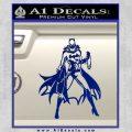 Bat Girl Full Decal Sticker Blue Vinyl 120x120