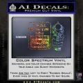 Beware Of Owner Decal Sticker Gun Glitter Sparkle 120x120