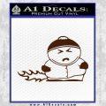 Cartman Farting South Park Decal Sticker BROWN Vinyl 120x120