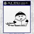 Cartman Farting South Park Decal Sticker Black Vinyl 120x120