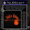 Catch And Release Reel Decal Sticker Orange Emblem 120x120
