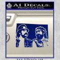 Cheech And Chong D2 Decal Sticker Blue Vinyl 120x120