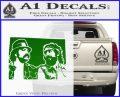 Cheech And Chong D2 Decal Sticker Green Vinyl Logo 120x97