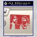 Cheech And Chong D2 Decal Sticker Red 120x120
