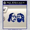 Cheech And Chong Decal Stickers Blue Vinyl 120x120