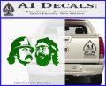 Cheech And Chong Decal Stickers Green Vinyl Logo 120x97