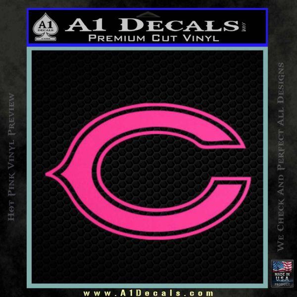 Chicago Bears C Decal Sticker 187 A1 Decals