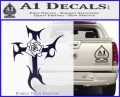 Cross Crucifix Decal Sticker Christian D2 PurpleEmblem Logo 120x97