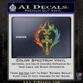 Cross Crucifix Decal Sticker Christian D8 Glitter Sparkle 120x120