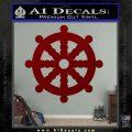 Dharma Wheel Decal Sticker Traditional DRD Vinyl 120x120