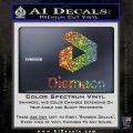 Diemaco Firearms Decal Sticker Glitter Sparkle 120x120