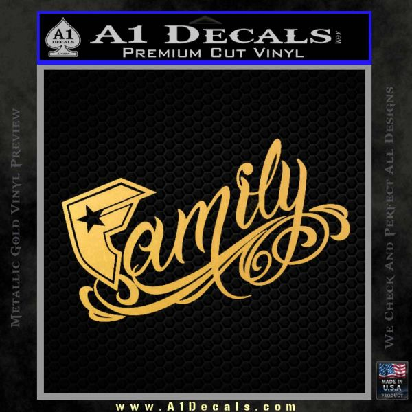 Famous F Stars And Straps Decal Sticker 187 A1 Decals