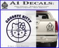 Goodbye Hello Kitty Scope Decal Sticker PurpleEmblem Logo 120x97
