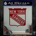 New York Rangers Decal Sticker DRD Vinyl 120x120