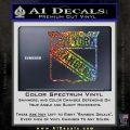 New York Rangers Decal Sticker Glitter Sparkle 120x120
