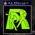 Pokemon Team Rocket Decal Sticker Lime Green Vinyl 120x120