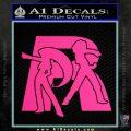 Pokemon Team Rocket Decal Sticker Pink Hot Vinyl 120x120