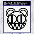 Radiohead Decal Sticker Black Vinyl 120x120
