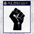 Resistance Fist Decal Sticker Power Black Vinyl 120x120