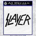 Slayer Decal Sticker Black Vinyl Black 120x120