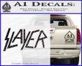 Slayer Decal Sticker CFB Vinyl Black 120x97
